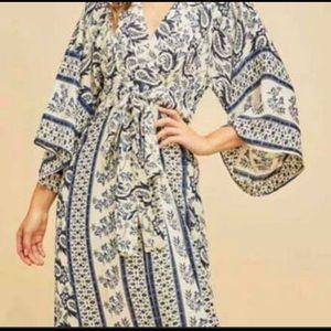 NWT Anthropologie/ Entro maxi boho dress